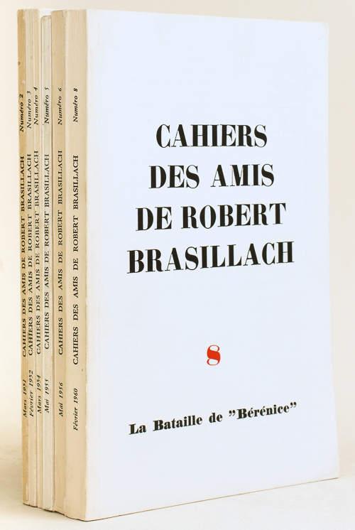 Cahiers des Amis de Robert Brasillach