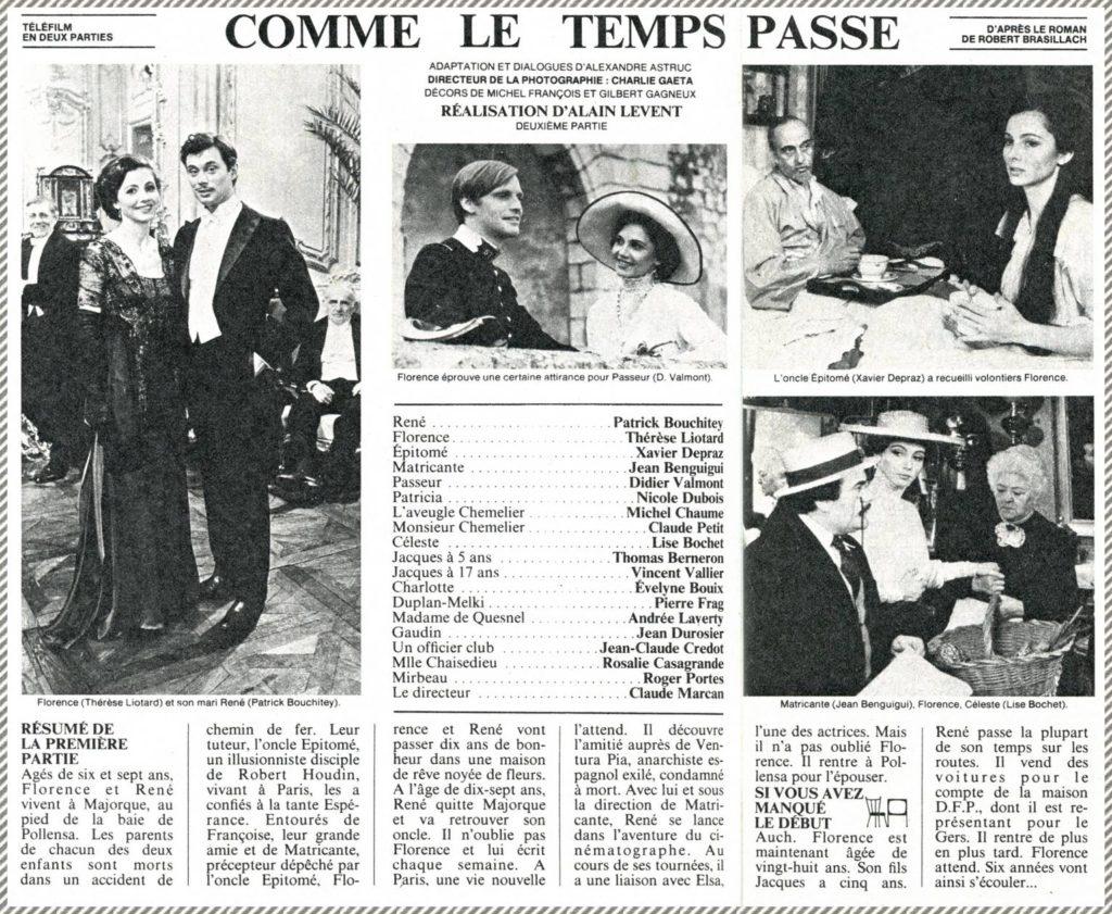 Brasillach-Robert-Téléfilm-Comme-le-temps-passe-1980-02