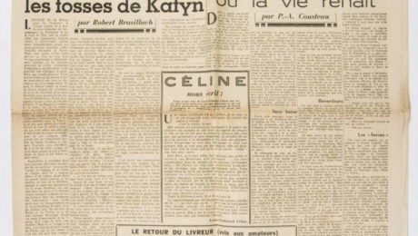 Massacre de Katyn - Emission de Radio (1943) avec Brasillach