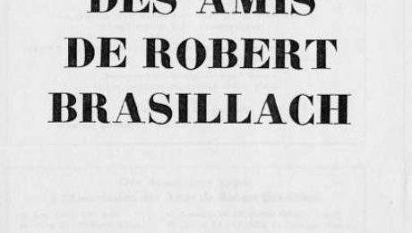06 - Cahiers des Amis de Robert Brasillach - Mai 1956