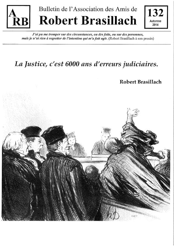 Bulletin de l'association des Amis de Robert Brasillach - 132