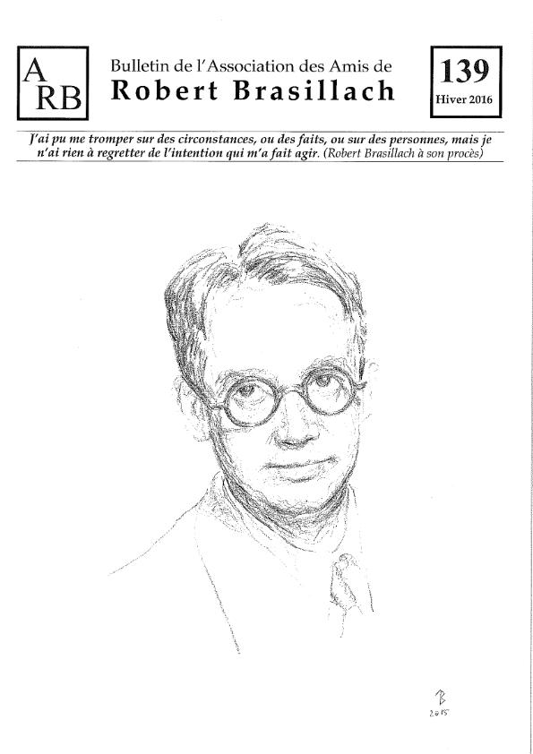 Bulletin de l'association des Amis de Robert Brasillach - 139