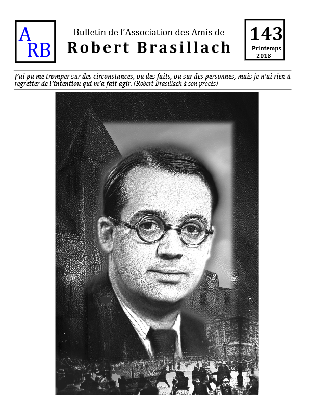 Bulletin de l'association des Amis de Robert Brasillach - 143